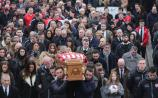 Finn Harps players take part in funeral of Ryan McBride