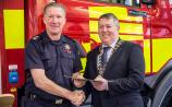 Donegal firemen awarded for dedicated years of service