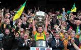 2012: Michael Murphy lifts Sam Maguire as Donegal take second All-Ireland senior title