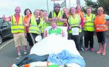 Bed push for charity