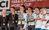 More cycling gold for Katie-George Dunlevy at World Cup event in Belgium