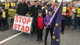 Border protests to mark UK exit from EU
