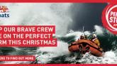 Bundoran RNLI volunteers facing the Perfect Storm this Christmas