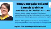 Official virtual lanch of #BuyDonegalWeekend on Wednesday