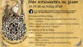 The Falcarragh-based initiative Féile Scéalaíochta na Glaise event goes online this year