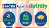 NCBI and Thrifitfy join forces to bring safe sustainable charity shopping to your door