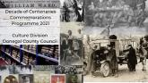 Donegal's Decade of Centenaries Digital Lecture Series