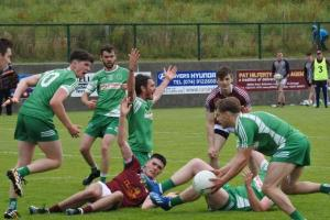 St Naul's pip Termon in Division 2