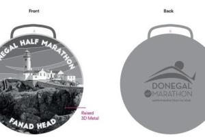 Revealed: Fabulous Fanad Lighthouse image on medal for Donegal Half Marathon