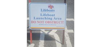 RNLI APPEAL:  Do Not Obstruct Our Piers and Harbours