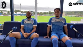 Video: Finn Harps due Ethan Boyle and Will Seymore assess their Fifa 22 ratings