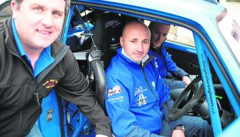 Donegal drivers Declan Boyle and Donagh Kelly facing a real test in Longford