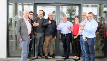 Great welcome for new Supermac's complex in Donegal today as €5m development opens