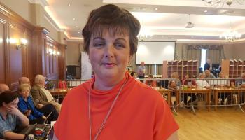 Burtonoport woman Noreen McGarvey is on course to take a FF seat in the Glenties LEA