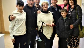 DONEGAL EA: Barry Sweeny says he's delighted with the support he has received