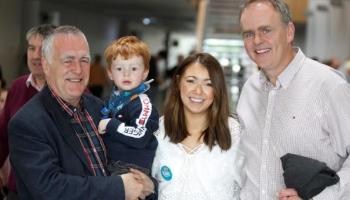 Cllr. Jimmy Kavanagh of Fine Gael has been elected in the Letterkenny Electoral Area