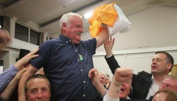 DONEGAL LEA - Four candidates elected on the 14th count
