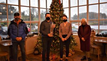 Awards for two Donegal businesses for their delightful and uplifting Christmas displays