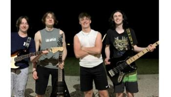 Talented new band set to rock Letterkenny Busking Festival