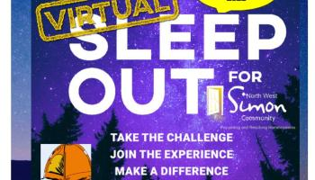 Ditch the duvet and pack away the pillows all for a good cause
