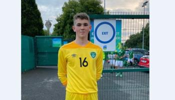 Donegal keeper Doherty named in Ireland U-17 squad