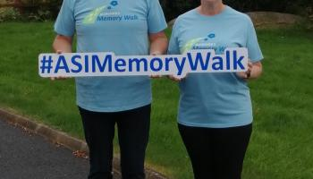Daniel and Majella O'Donnell are making every step count to support Virtual Alzheimer's Memory Walk fundraiser