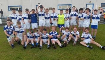 Four Masters take U-13 county title in thriller against Ardara