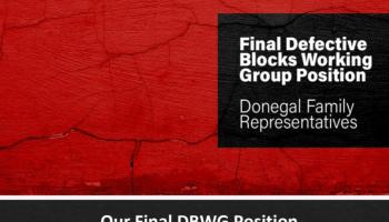 Donegal family representatives present Final Defective Blocks Working Group position