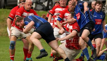 Age is only a number for Donegal Town Rugby Club's front row specialist