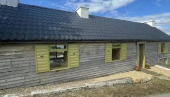How would you like to live in a log cabin in Glenties?