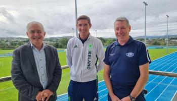 Brendan Boyce launches Finn Valley AC jubilee schools programme