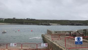Councillor welcomes work on Gaoth Dobhair pier