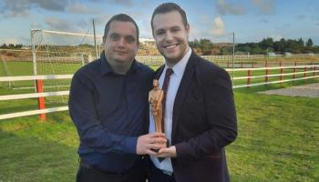 A magical occasion for Burtonport man who joins David Copperfield on distinguised list