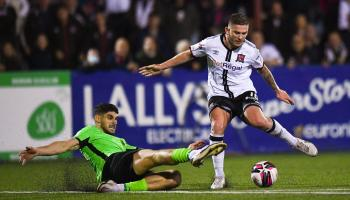 Dundalk come good in extra-time to finally oust Finn Harps