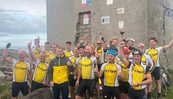 Mad Dogs Mizen to Malin Charity Cycle raises almost €17,000
