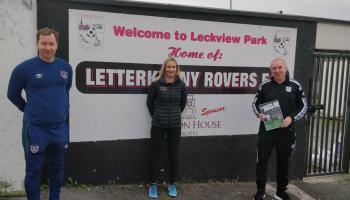 Letterkenny Rovers to lead out on Football For All Programme