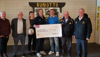 Two Donegal GAA clubs have handed out €18,000 in lotto prizes over recent days