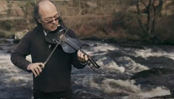 Howard Chu enjoying life - and music - in west Donegal