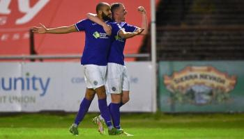 Watch: Ethan Boyle's goal that has Finn Harps one up at Bohemians