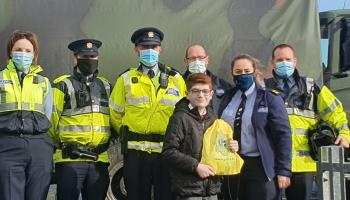 Gardaí, the Army and StormTroopers make it a special day for Eoin