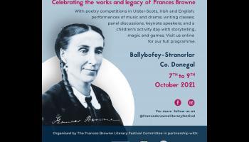 Frances Browne Literary Festival opens today in Ballybofey - Stranorlar