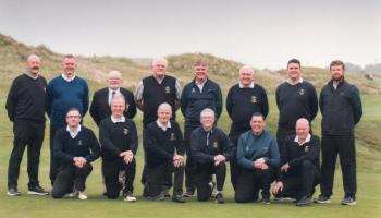 Letterkenny Golf Club toast Minor League victory