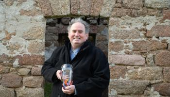 Patrick Bonner, the Ballyshannon Regeneration Group and Oideas Gael win heritage awards