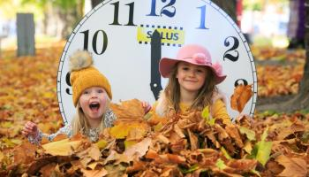 Don't forget the clocks go back on Sunday, October 31