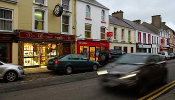 Gardaí investigate overnight burglary at Britton Jewellers Donegal Town