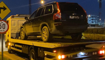 SUV driver arrested for driving while disqualified for the THIRD time this week