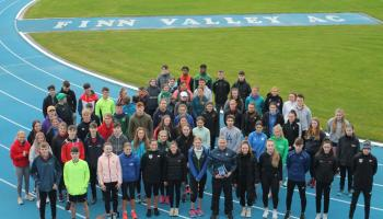 Gallery: Ulster Athletics Academy has first outing at Finn Valley AC