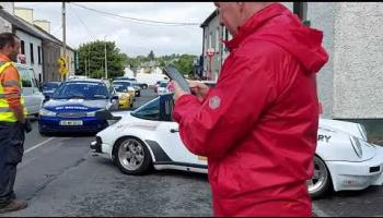 Watch: Classic cars as Retro Cannonball Run comes to Donegal