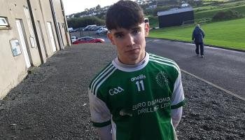 WATCH:  St Naul's joint captain and man of the match Conor Campbell on winning Donegal minor title