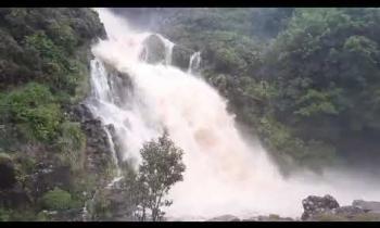 Assaranca Waterfall, Ardara, Donegal